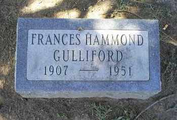 GULLIFORD, FRANCES - Ross County, Ohio | FRANCES GULLIFORD - Ohio Gravestone Photos