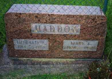 HADDOX, HOWARD A. - Ross County, Ohio | HOWARD A. HADDOX - Ohio Gravestone Photos