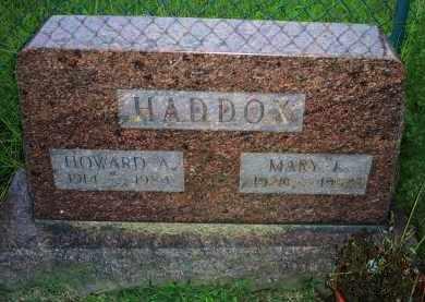 HADDOX, MARY J. - Ross County, Ohio | MARY J. HADDOX - Ohio Gravestone Photos