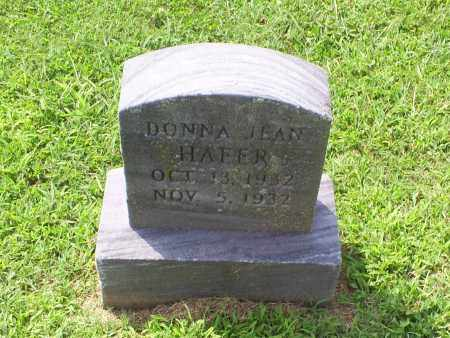 HAFER, DONNA JEAN - Ross County, Ohio | DONNA JEAN HAFER - Ohio Gravestone Photos