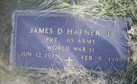 HAFNER, JAMES D. JR. - Ross County, Ohio | JAMES D. JR. HAFNER - Ohio Gravestone Photos