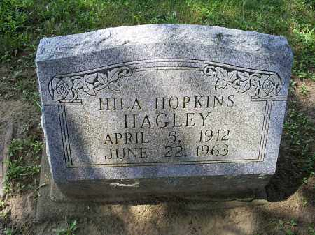 HOPKINS HAGLEY, HILA - Ross County, Ohio | HILA HOPKINS HAGLEY - Ohio Gravestone Photos