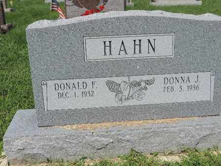 HAHN, DONALD F - Ross County, Ohio | DONALD F HAHN - Ohio Gravestone Photos