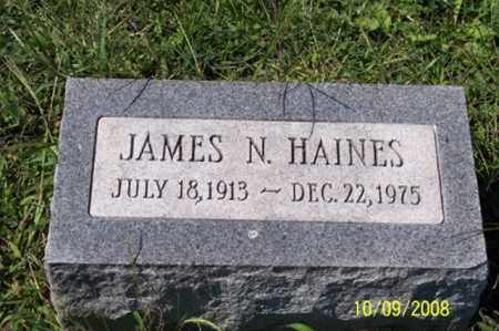 HAINES, JAMES N. - Ross County, Ohio | JAMES N. HAINES - Ohio Gravestone Photos