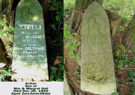 HALL, ARTHUR - Ross County, Ohio   ARTHUR HALL - Ohio Gravestone Photos