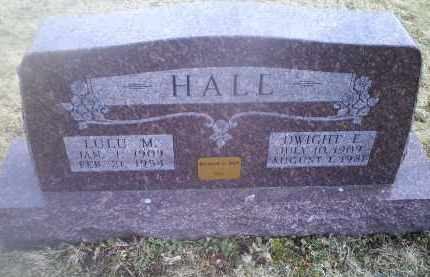 HALL, DWIGHT E. - Ross County, Ohio | DWIGHT E. HALL - Ohio Gravestone Photos
