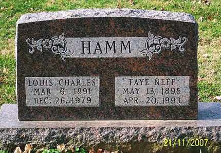HAMM, FAYE - Ross County, Ohio | FAYE HAMM - Ohio Gravestone Photos