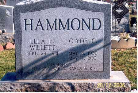HAMMOND, LELA ELLEN - Ross County, Ohio | LELA ELLEN HAMMOND - Ohio Gravestone Photos