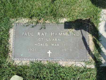 HAMMOND, PAUL RAY - Ross County, Ohio | PAUL RAY HAMMOND - Ohio Gravestone Photos