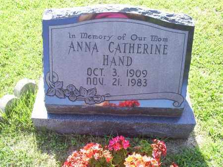 HAND, ANNA CATHERINE - Ross County, Ohio | ANNA CATHERINE HAND - Ohio Gravestone Photos