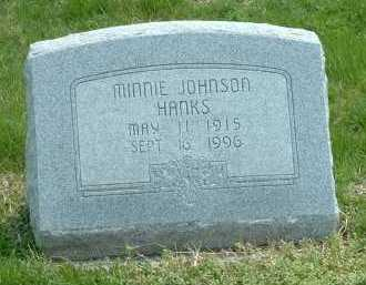 JOHNSON HANKS, MINNIE - Ross County, Ohio | MINNIE JOHNSON HANKS - Ohio Gravestone Photos