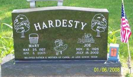 STAFFAN HARDESTY, MARY - Ross County, Ohio | MARY STAFFAN HARDESTY - Ohio Gravestone Photos
