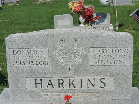 HARKINS, DONALD A. - Ross County, Ohio | DONALD A. HARKINS - Ohio Gravestone Photos