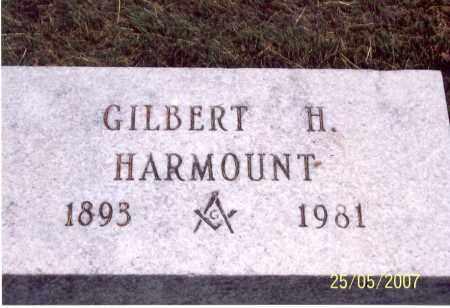 HARMOUNT, GILBERT H. - Ross County, Ohio | GILBERT H. HARMOUNT - Ohio Gravestone Photos