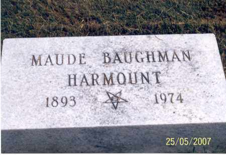 HARMOUNT, MAUDE - Ross County, Ohio | MAUDE HARMOUNT - Ohio Gravestone Photos