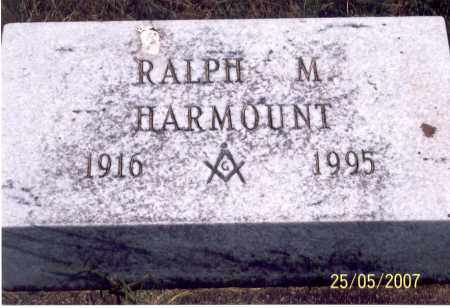 HARMOUNT, RALPH M. - Ross County, Ohio | RALPH M. HARMOUNT - Ohio Gravestone Photos