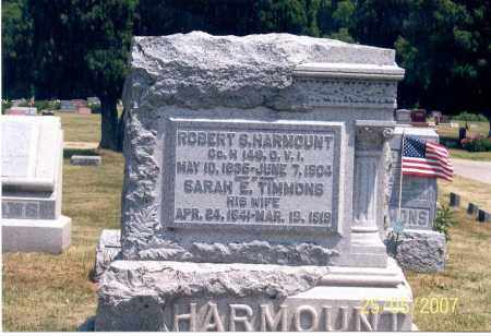 HARMOUNT, ROBERT S. - Ross County, Ohio | ROBERT S. HARMOUNT - Ohio Gravestone Photos