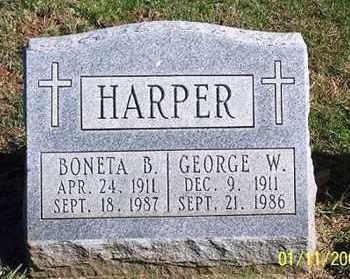 HARPER, GEORGE W. - Ross County, Ohio | GEORGE W. HARPER - Ohio Gravestone Photos
