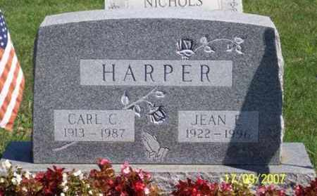 HARPER, JEAN E. - Ross County, Ohio | JEAN E. HARPER - Ohio Gravestone Photos