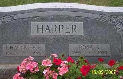 HARPER, CHAUNCEY E. - Ross County, Ohio | CHAUNCEY E. HARPER - Ohio Gravestone Photos
