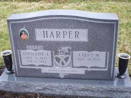 ALLEN HARPER, GERALDINE E. - Ross County, Ohio | GERALDINE E. ALLEN HARPER - Ohio Gravestone Photos