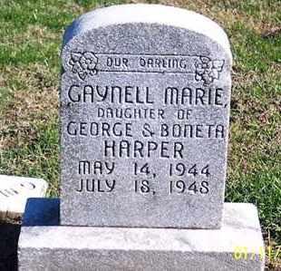 HARPER, GAYNELL MARIE - Ross County, Ohio | GAYNELL MARIE HARPER - Ohio Gravestone Photos