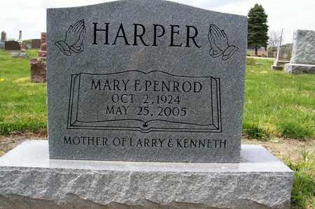 PENROD HARPER, MARY - Ross County, Ohio | MARY PENROD HARPER - Ohio Gravestone Photos
