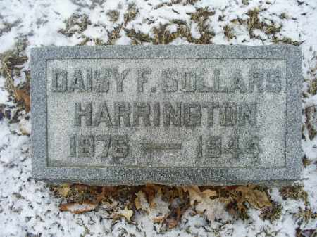 SOLLARS HARRINGTON, DAISY F. - Ross County, Ohio | DAISY F. SOLLARS HARRINGTON - Ohio Gravestone Photos