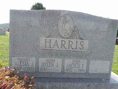 HARRIS, ARCHIE P - Ross County, Ohio | ARCHIE P HARRIS - Ohio Gravestone Photos
