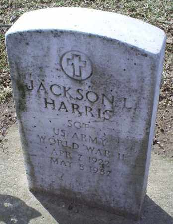 HARRIS, JACKSON L. - Ross County, Ohio | JACKSON L. HARRIS - Ohio Gravestone Photos