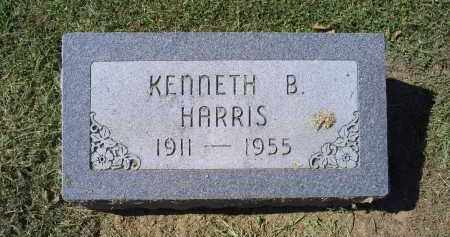 HARRIS, KENNETH B. - Ross County, Ohio | KENNETH B. HARRIS - Ohio Gravestone Photos