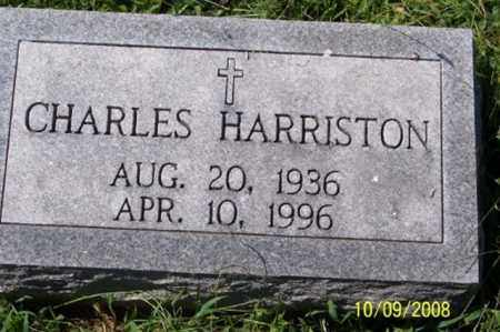 HARRISTON, CHARLES - Ross County, Ohio | CHARLES HARRISTON - Ohio Gravestone Photos