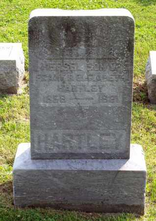 HARTLEY, HERSEL - Ross County, Ohio | HERSEL HARTLEY - Ohio Gravestone Photos