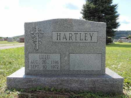 HARTLEY, LULU - Ross County, Ohio | LULU HARTLEY - Ohio Gravestone Photos