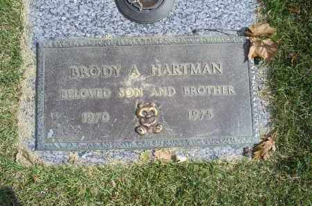 HARTMAN, BRODY A. - Ross County, Ohio | BRODY A. HARTMAN - Ohio Gravestone Photos