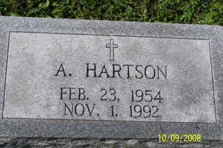 HARTSON, A. - Ross County, Ohio | A. HARTSON - Ohio Gravestone Photos