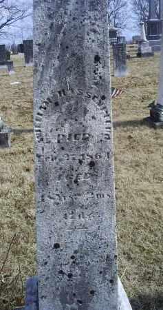 HASSENPFLUG, WILLIAM - Ross County, Ohio | WILLIAM HASSENPFLUG - Ohio Gravestone Photos