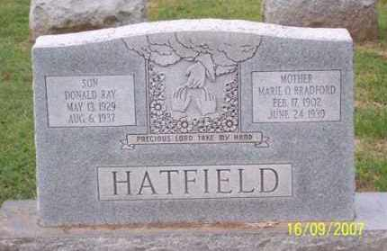 HATFIELD, DONALD RAY - Ross County, Ohio | DONALD RAY HATFIELD - Ohio Gravestone Photos