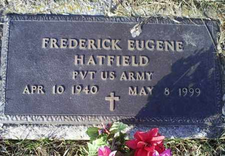 HATFIELD, FREDERICK EUGENE - Ross County, Ohio | FREDERICK EUGENE HATFIELD - Ohio Gravestone Photos