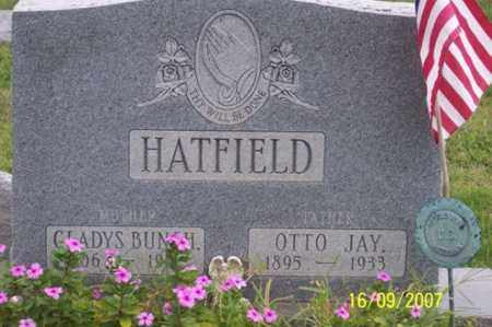 BUNCH HATFIELD, GLADYS - Ross County, Ohio | GLADYS BUNCH HATFIELD - Ohio Gravestone Photos
