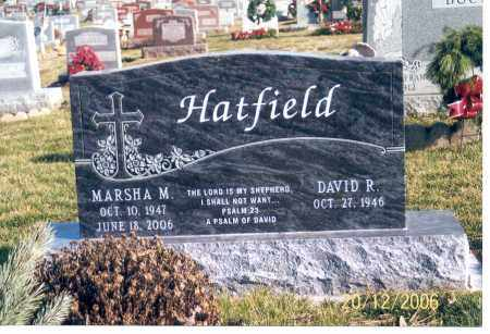 HATFIELD, MARSHA M. - Ross County, Ohio | MARSHA M. HATFIELD - Ohio Gravestone Photos