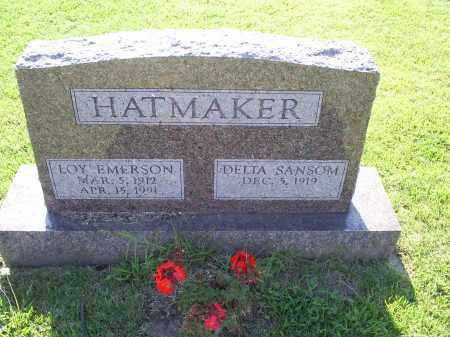 HATMAKER, LOY EMERSON - Ross County, Ohio | LOY EMERSON HATMAKER - Ohio Gravestone Photos