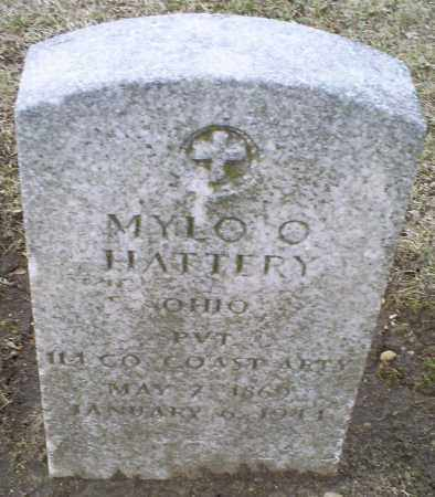 HATTERY, MYLO O. - Ross County, Ohio | MYLO O. HATTERY - Ohio Gravestone Photos