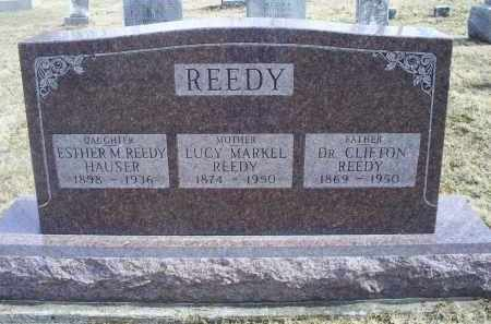 MARKEL REEDY, LUCY - Ross County, Ohio | LUCY MARKEL REEDY - Ohio Gravestone Photos