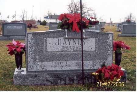 HESTER HAYNES, BETTY JEAN - Ross County, Ohio | BETTY JEAN HESTER HAYNES - Ohio Gravestone Photos