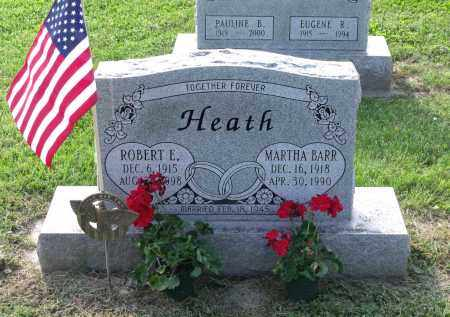 HEATH, MARTHA - Ross County, Ohio | MARTHA HEATH - Ohio Gravestone Photos