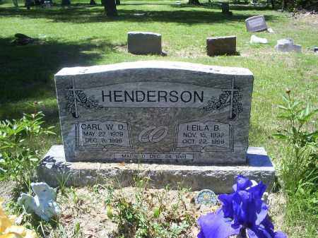 HENDERSON, CARL W. D. - Ross County, Ohio | CARL W. D. HENDERSON - Ohio Gravestone Photos