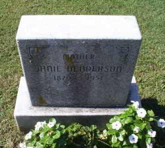 HENDERSON, JANIE - Ross County, Ohio | JANIE HENDERSON - Ohio Gravestone Photos