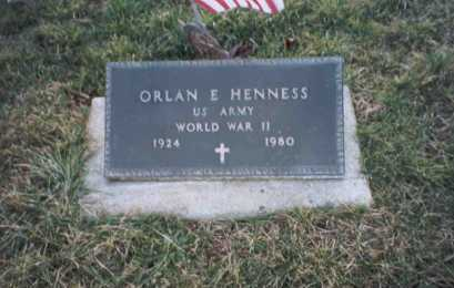 HENNESS, ORLAN - Ross County, Ohio | ORLAN HENNESS - Ohio Gravestone Photos