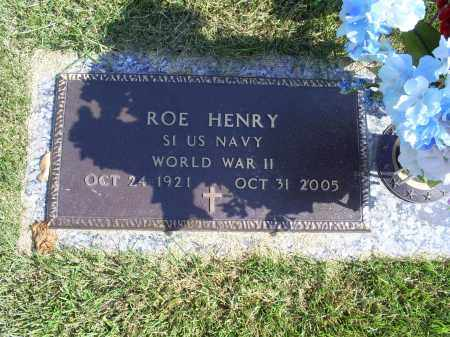 HENRY, ROE - Ross County, Ohio | ROE HENRY - Ohio Gravestone Photos